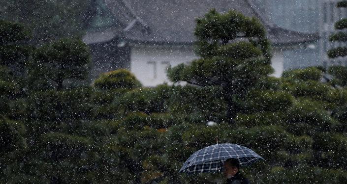 Tokyo'da 54 yıl sonra ilk kez kasımda kar yağdı.