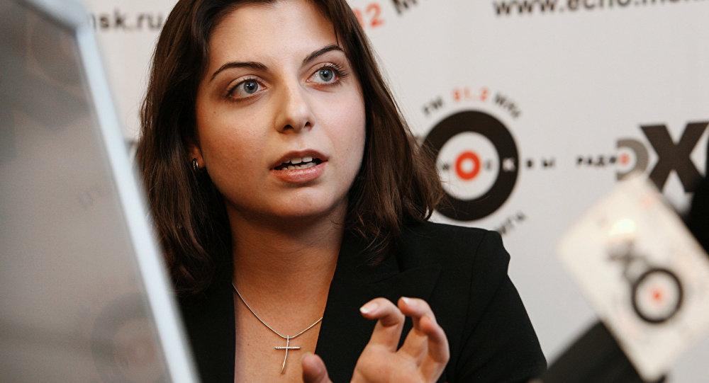 Sputnik ve Russia Today (RT) Genel Yayın Yönetmeni Margarita Simonyan