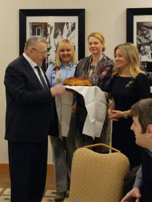 Ankara'yı ziyaret eden Rusya Liberal Demokrat Partisi Genel Başkanı Vladimir Jirinovski.