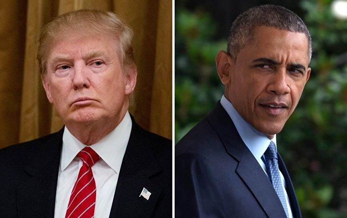 Obama, Trump'ı topa tuttu