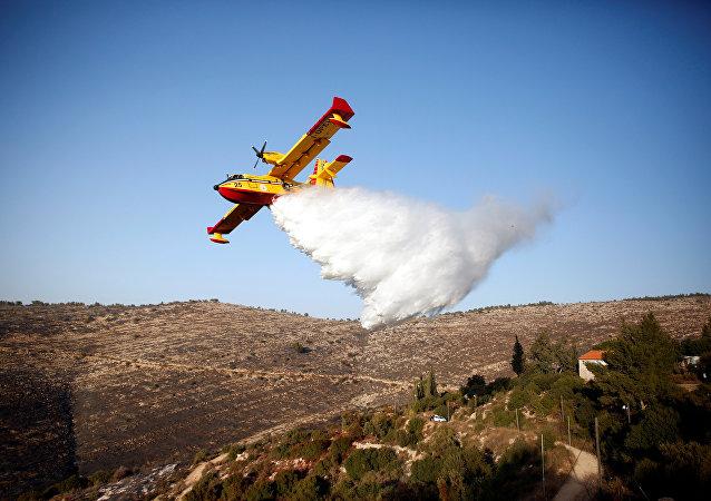 İsrail'deki orman yangınları