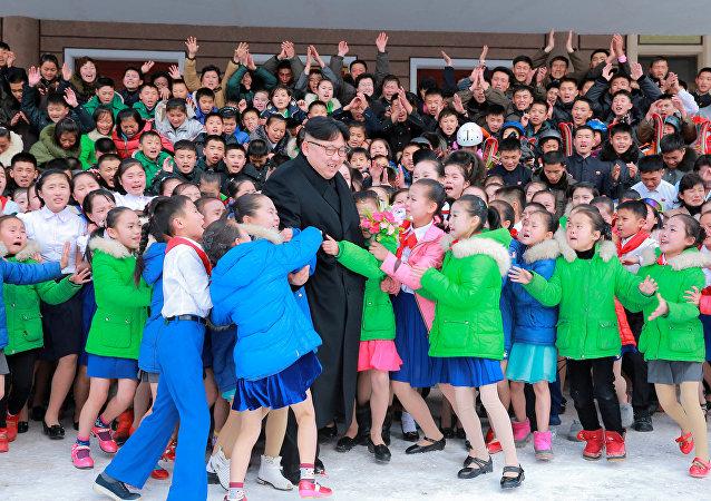 Kim Jong-un babası Kim Jong-il'in doğduğu topraklarda