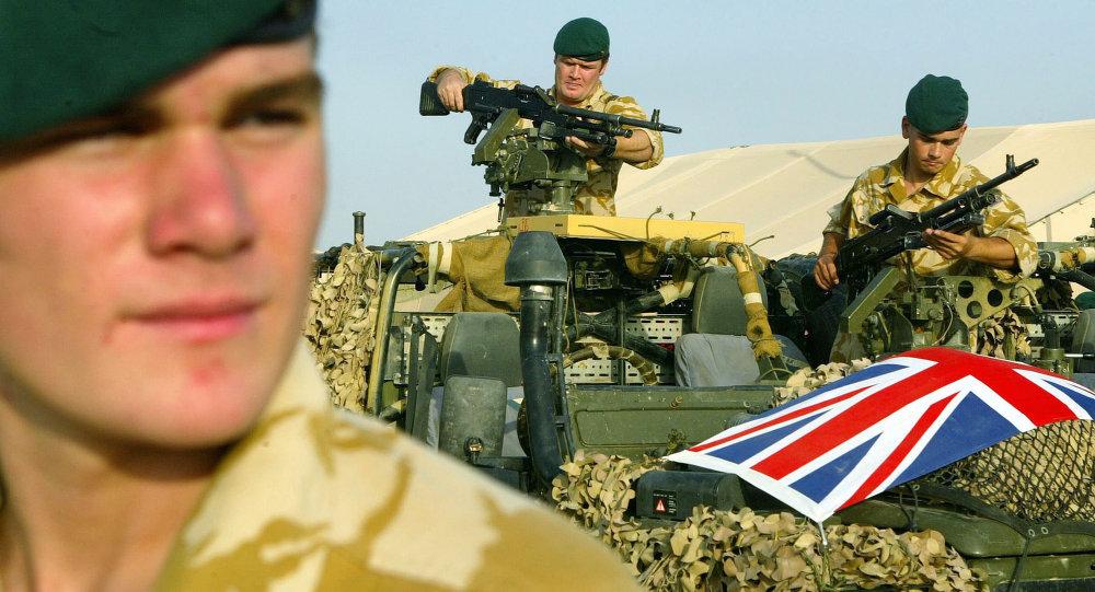 İngiliz askeri