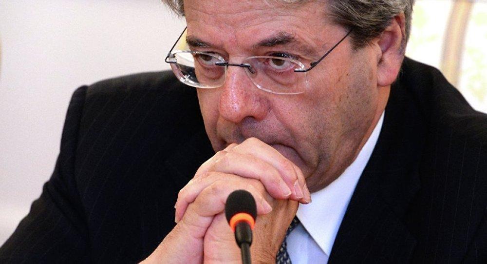 İtalya Dışişleri Bakanı Paolo Gentiloni