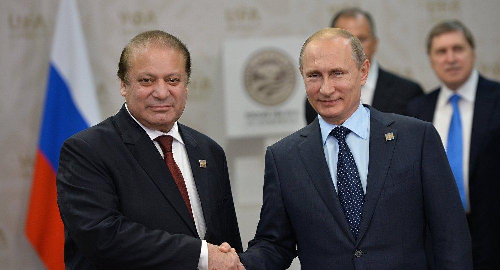 Vladimir Putin ve Navaz Şerif
