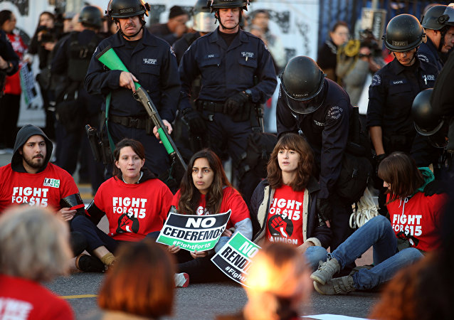 ABD'deki 'FightFor15' eylemleri
