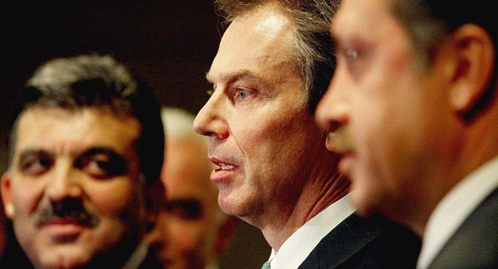 Recep Tayyip Erdoğan - Tony Blair - Abdullah Gül