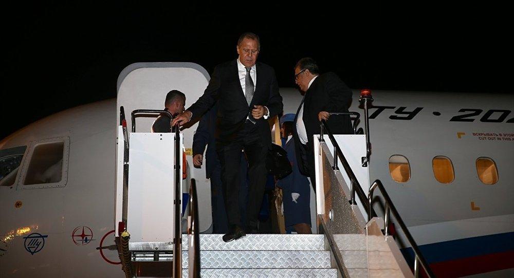 Rusya Dışişleri Bakanı Sergey Lavrov Alanya'da