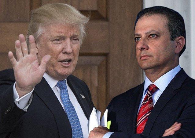 Donald Trump ve Savcı Preet Bharara