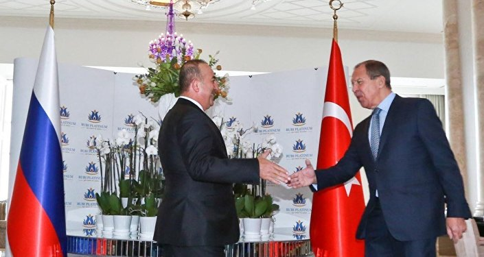Türkiye Dışişleri Bakanı Mevlüt Çavuşoğlu- Rusya Dışişleri Bakanı Sergey Lavrov