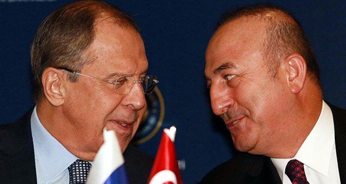 Sengey Lavrov - Mevlüt Çavuşoğlu