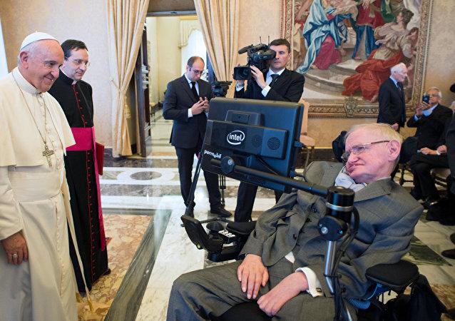 Stephen Hawking ve Papa Francis
