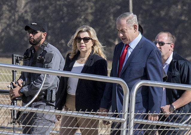 Sara ve Binyamin Netanyahu