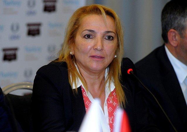 Türkiye Kürk Sanayicileri ve İş Adamları Derneği (KSİAD) Yönetim Kurulu Başkanı Ayfer Gümrük