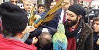 Ahmet Davutoğlu - papağan