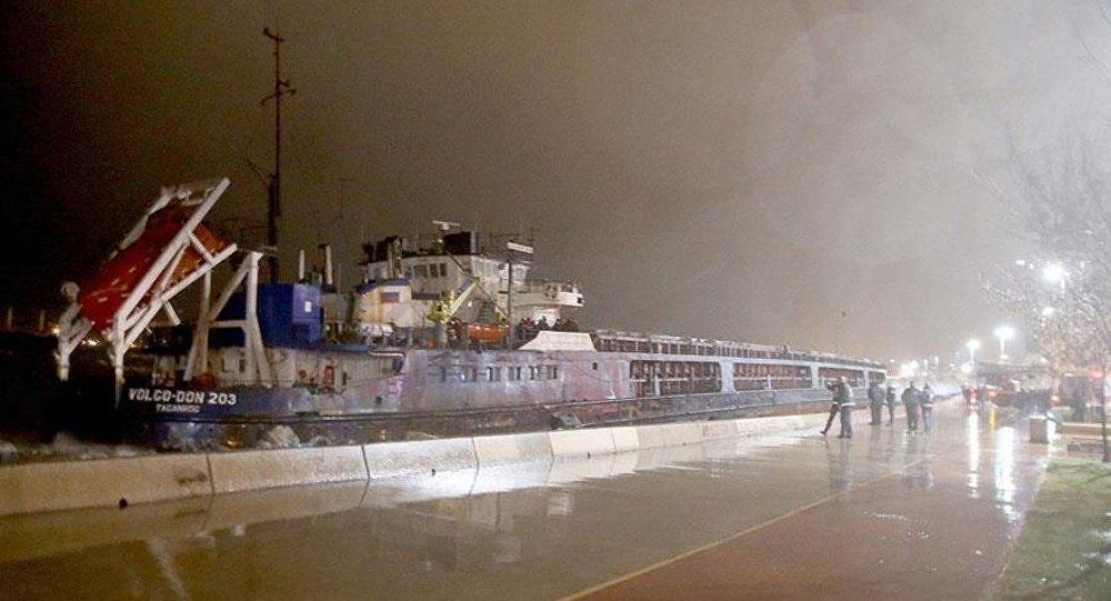 karaya oturan kuruyük gemisi