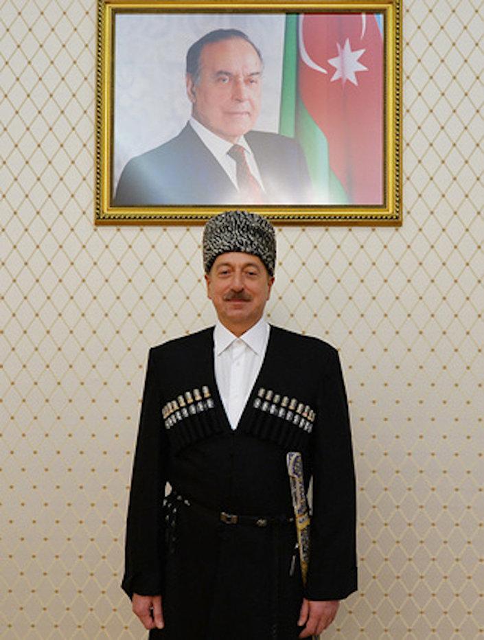 AzerbaycanCumhurbaşkanı İlham Aliyev