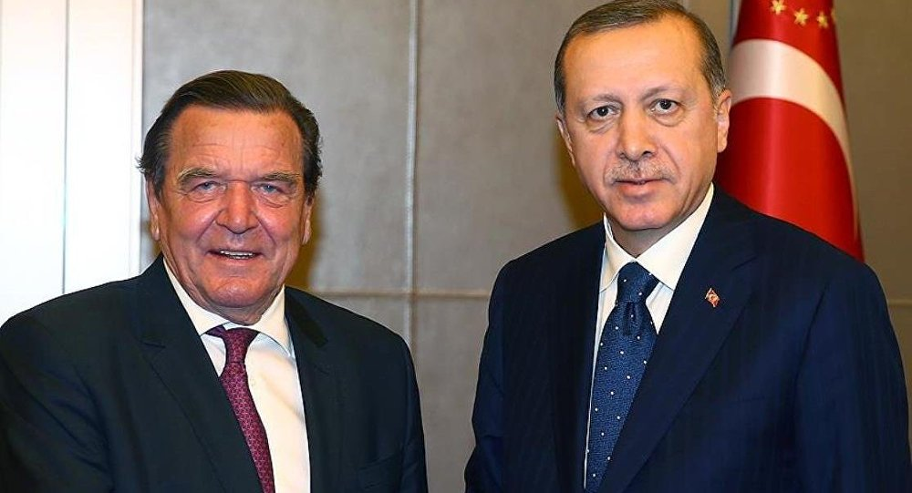 Recep Tayyip Erdoğan - Gerhard Schröder