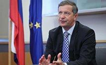 Slovenya Dışişleri Bakanı Karl Erjavec