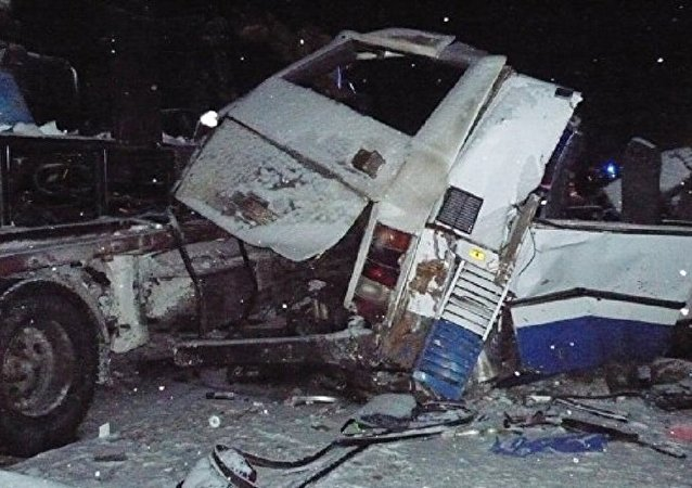 Rusya'da korkunç trafik kazası