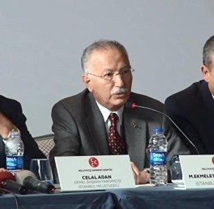 Ekmeleddin İhsanoğlu ve MHP heyeti