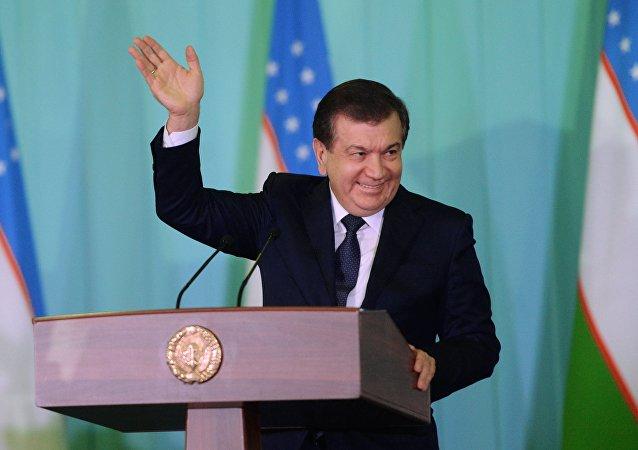 Özbekistan Devlet Başkanı Şevket Mirziyoyev