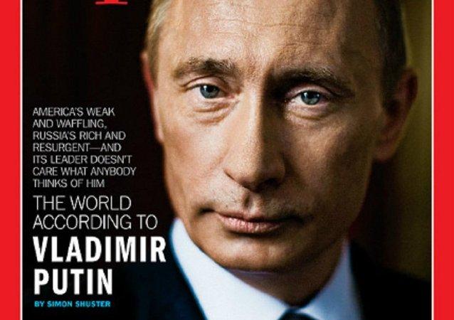 Vladimir Putin, Time'ın kapağında
