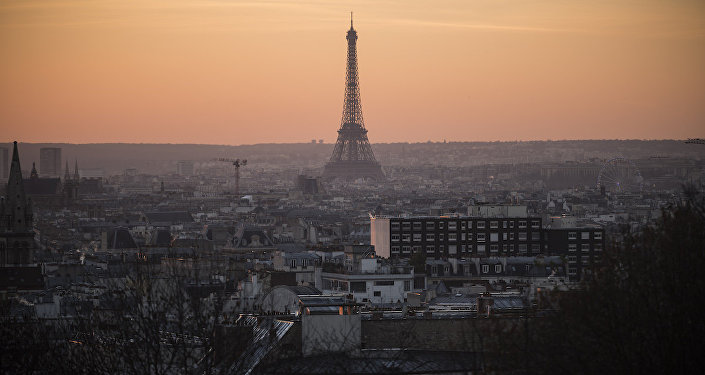 Paris'te hava kirliliği