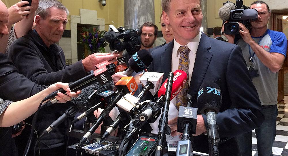 Yeni Zelanda'da Başbakan adaylarından Bill English