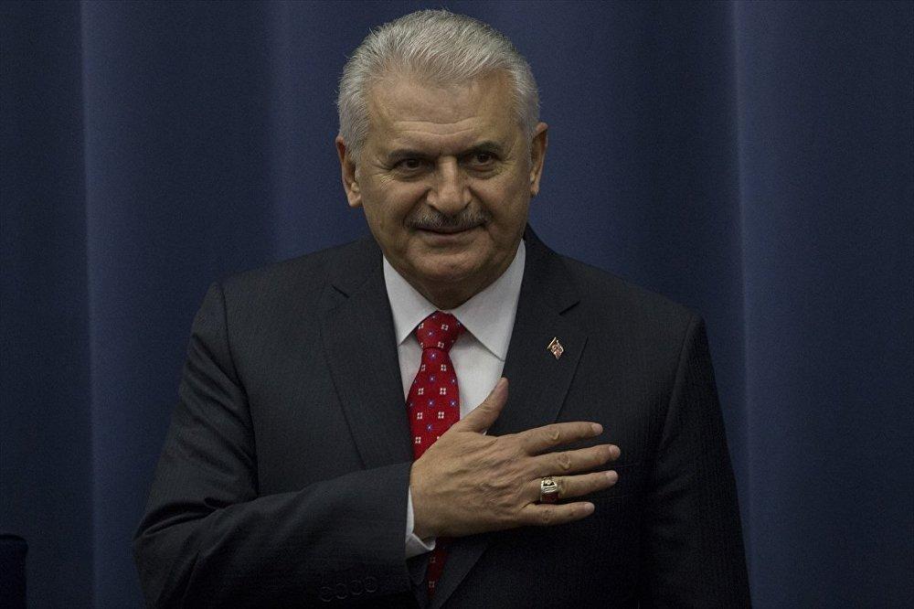 Başbakan Binali Yıldırım, resmi temaslarda bulunmak üzere geldiği Rusya'da, Moskova Devlet Diplomasi Enstitüsü'nde konuşma yaptı.