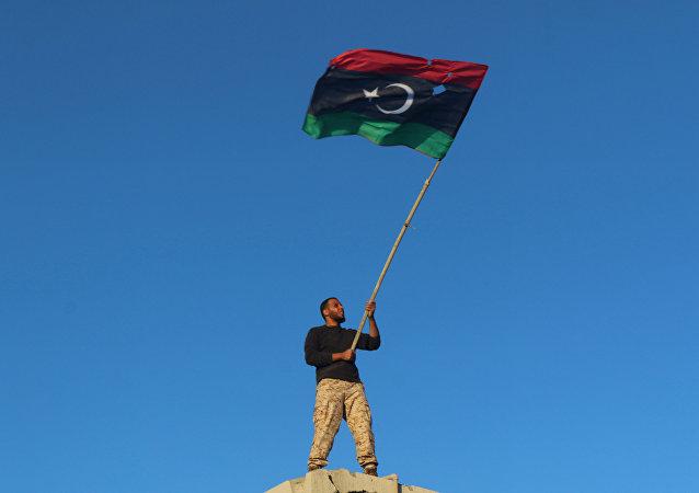 Libya - Sirte / Libya bayrağı
