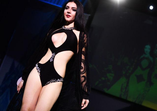 Rusya'nın başkenti Moskova'daki Korston Club Hotel'de düzenlenen Rusya Modeller Güzellik Yarışması, ülkenin birçok bölgesinden 30 güzeli bir araya getirdi.