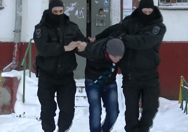 FSB aşırıcılık yanlısı çok sayıda kişiyi gözaltına aldı
