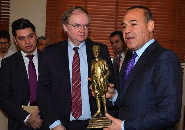 AB Büyükelçilerini Adana Büyükşehir Belediye Başkanı Hüseyin Sözlü ağırladı