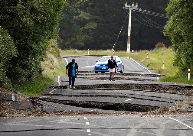 Yeni Zelanda'da deprem