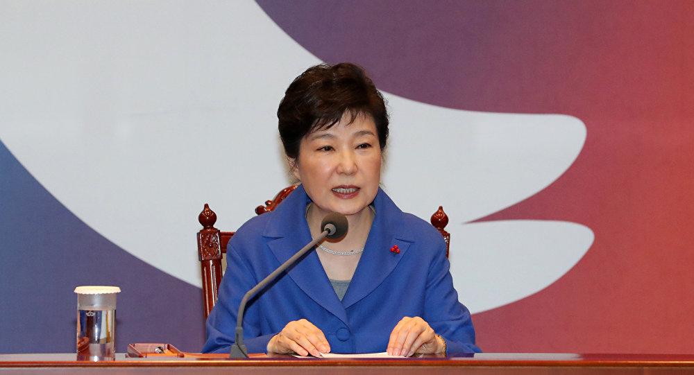 Güney Kore Devlet Başkanı Park Geun-hye