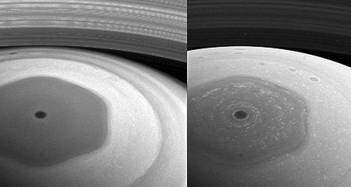 Cassini, Satürn'deki yeni yörüngesinden ilk fotoğraflarını yolladı
