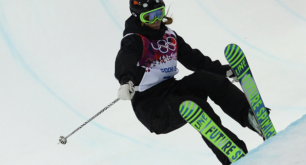 İspanyol kayakçı Katia Griffiths