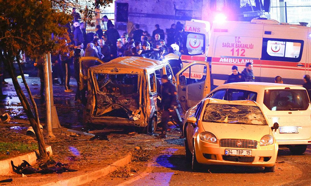 İstanbul'da patlama