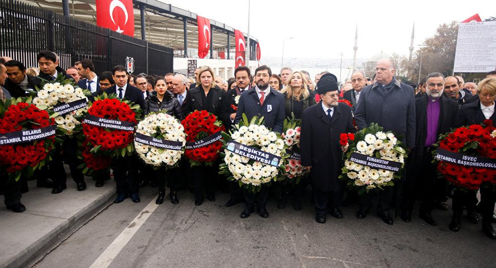 Yabancı diplomatlar, Beşiktaş'taki saldırılarda hayatını kaybedener