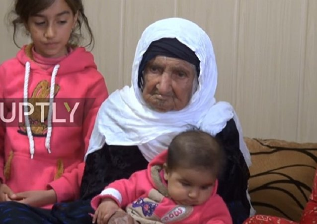 Irak'ta yaşayan 119 yaşındaki Selma Abdülkadir