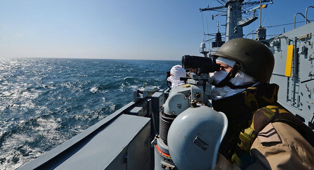 Karadeniz'deki NATO görevine katılan Romanya fırketeyni 'Regina Maria'