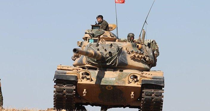 El Bab'daki Türk tankları