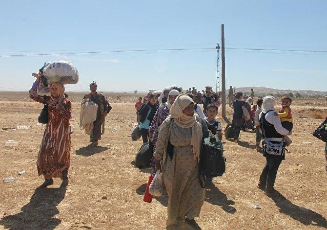 Rakka operasyonu kapsamında IŞİD'in rehin tuttuğu siviller de kurtarıldı