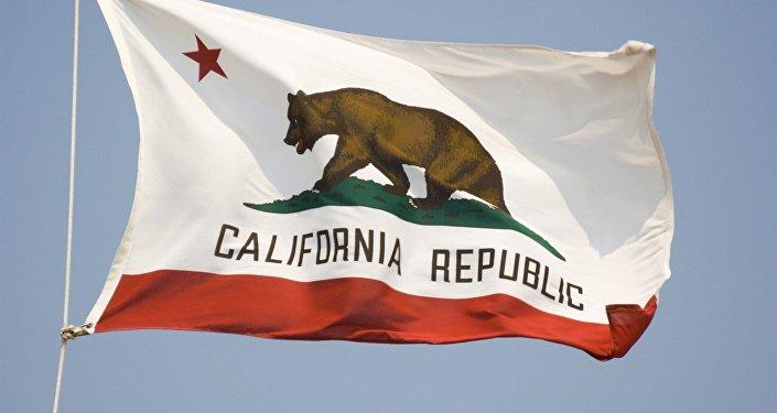 Kaliforniya eyaletinin bayrağı