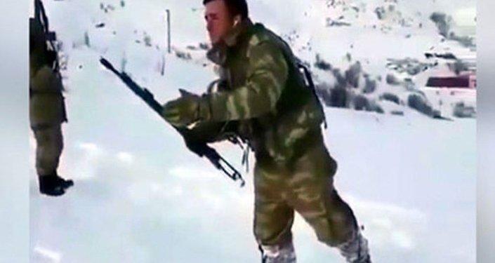 Hakkari'de görev yapan askerlerden ilginç paylaşım