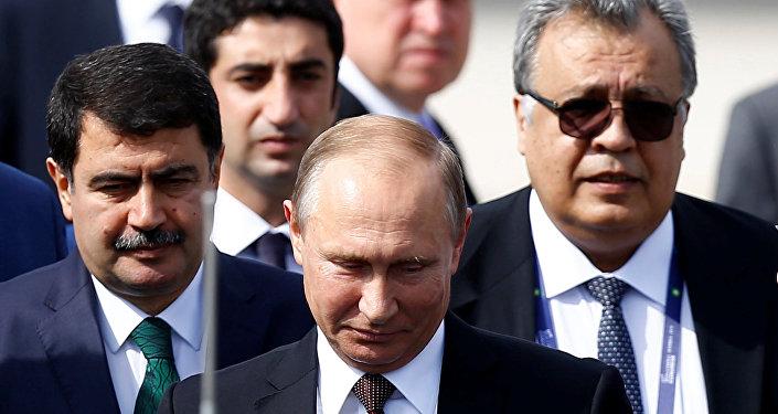 Rusya'nın Ankara Büyükelçisi Andrey Karlov- Rusya Devlet Başkanı Vladimir Putin