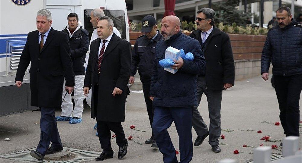 Karlov'u öldürülmesine ilişkin süreci Türk yetkililerle birlikte yürütmek üzere Ankara'ya gelen Rus heyet