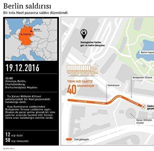 Berlin'de tır Noel pazarına girdi: 12 ölü