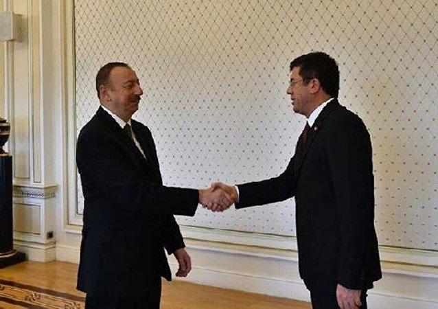 Nihat Zeybekci -  İlham Aliyev